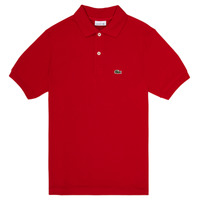 material Boy short-sleeved polo shirts Lacoste LOLLA Red