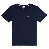 material Boy short-sleeved t-shirts Lacoste JUSTYNE Marine