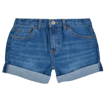 material Girl Shorts / Bermudas Levi's GIRLFRIEND SHORTY SHORT Blue