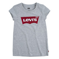 material Girl short-sleeved t-shirts Levi's BATWING TEE Grey
