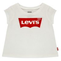 material Girl short-sleeved t-shirts Levi's BATWING TEE White