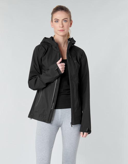 material Women Jackets adidas Performance W PARLEY 3L JKT Black