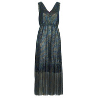 material Women Long Dresses Betty London MADAMME Blue