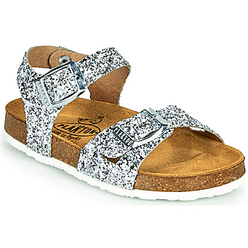 Shoes Girl Sandals Plakton LISA Silver