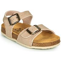 Shoes Children Sandals Plakton LOUIS Beige