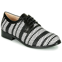 Shoes Women Derby shoes Fericelli MILEYNE Black / Et  / White