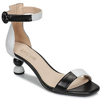 Shoes Women Sandals Fericelli MARC Black / Et  / White