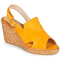 Shoes Women Sandals Fericelli MARIE Yellow