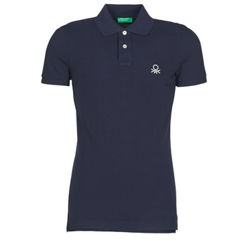 material Men short-sleeved polo shirts Benetton  Marine