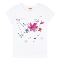material Girl short-sleeved t-shirts Catimini MAE White
