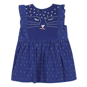 material Girl Short Dresses Catimini CHARLES Blue
