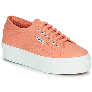 Shoes Women Low top trainers Superga 2790 ACOTW LINEA Up and Down Pink