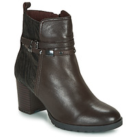 Shoes Women Ankle boots Caprice LUNITONE Brown