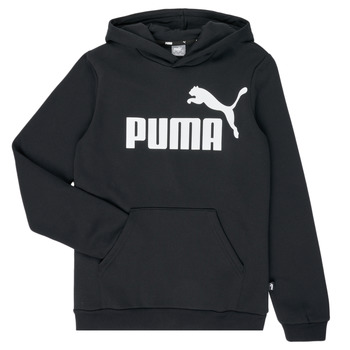material Boy sweaters Puma ESSENTIAL  HOODY Black