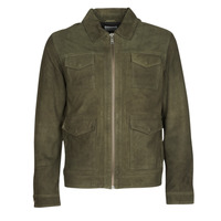 material Men Leather jackets / Imitation leather Selected SLHRALF Kaki