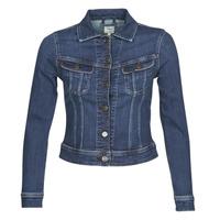 material Women Denim jackets Lee SLIM RIDER JACKET Dark