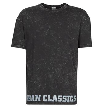 material Men short-sleeved t-shirts Urban Classics TOBI Black