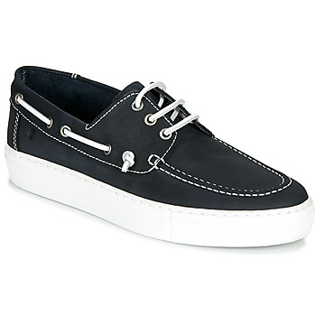 Shoes Men Boat shoes Casual Attitude MILIA Marine / White