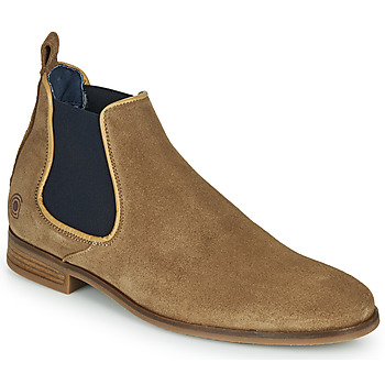 Shoes Men Mid boots Casual Attitude MANTHINE Taupe