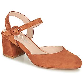 Shoes Women Court shoes Betty London MALINE Camel