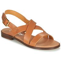 Shoes Women Sandals Betty London MADI Cognac