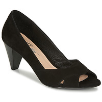 Shoes Women Court shoes Betty London MIRETTE Black / Suede