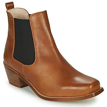 Shoes Women Ankle boots Betty London MERKATO Cognac