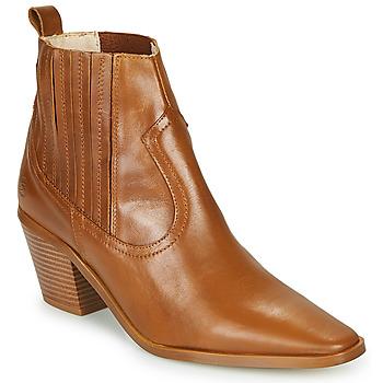 Shoes Women Ankle boots Betty London MIRTA Cognac