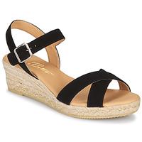 Shoes Women Sandals Betty London GIORGIA Black / Crust