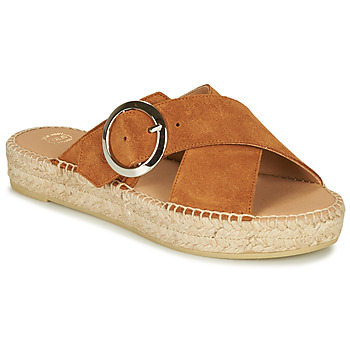 Shoes Women Sandals Betty London MARIZETTE Cognac