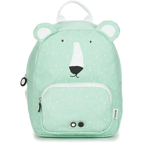 Bags Children Rucksacks TRIXIE MISTER POLAR BEAR Blue