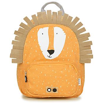 Bags Children Rucksacks TRIXIE MISTER LION Yellow