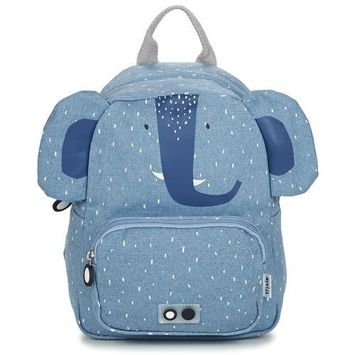 Bags Children Rucksacks TRIXIE MISTER ELEPHANT Blue