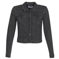 material Women Denim jackets Noisy May NMDEBRA Black