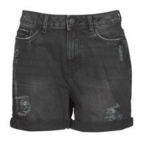 material Women Shorts / Bermudas Noisy May NMSMILEY Black