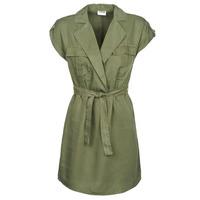 material Women Short Dresses Noisy May NMVERA Kaki