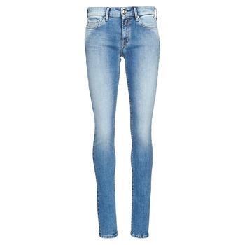 material Women Skinny jeans Replay LUZ Blue / Medium