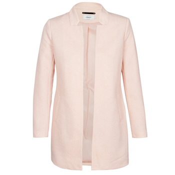 material Women coats Only ONLSOHO Pink