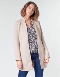 material Women coats Only ONLSOHO Beige