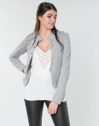 material Women Jackets / Blazers Only ONLANNETTA Grey