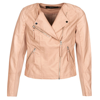 material Women Leather jackets / Imitation leather Vero Moda VMRIA FAV Pink