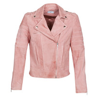material Women Leather jackets / Imitation leather Betty London MARILINE Pink