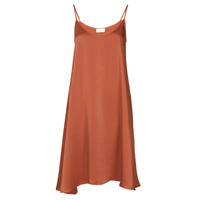 material Women Short Dresses Moony Mood FANETTI Brown