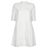 material Women Short Dresses Betty London MOLINE White