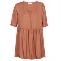 material Women Short Dresses Betty London MOUDENE Brown