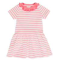 material Girl Short Dresses Petit Bateau FOREST White / Pink