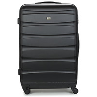 Bags Hard Suitcases David Jones CHAUVETTINI 107L Black