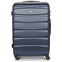 Bags Hard Suitcases David Jones CHAUVETTINI 107L Marine