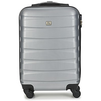 Bags Hard Suitcases David Jones CHAUVETTINI 40L Grey / Anthracite