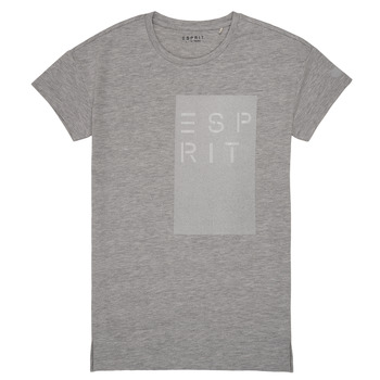 material Girl short-sleeved t-shirts Esprit EVELYNE Grey